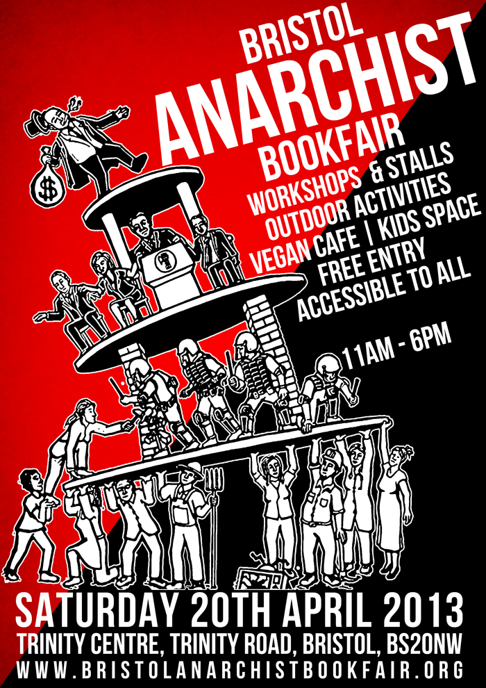 Bristol's 5th anarchist bookfair