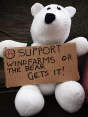 save the fucking polar bears!