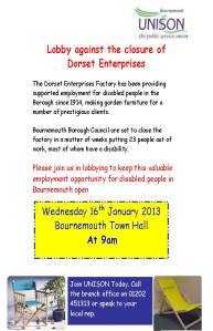 lobby_against_the_closure_of_dorset_enterprises