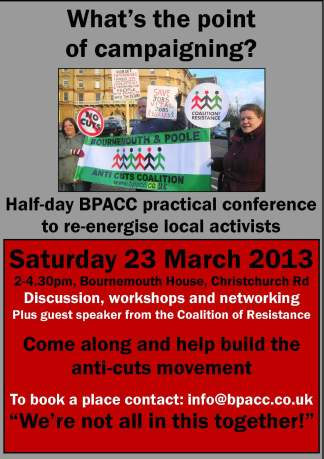 BPACC Conference Flyer 23 March 2013