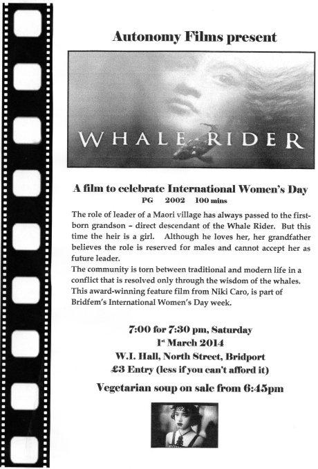 Whale Rider flyer