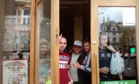 Fascist pub in Cardiff.