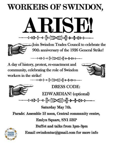 strike event poster