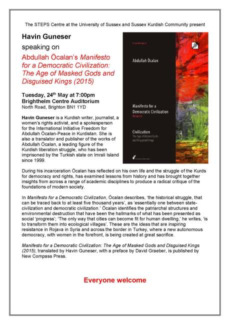 Guneser lecture flyer