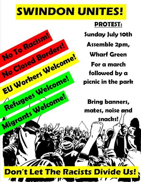 swindon unites poster