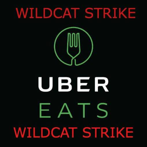 Uber Eats wildcat strike
