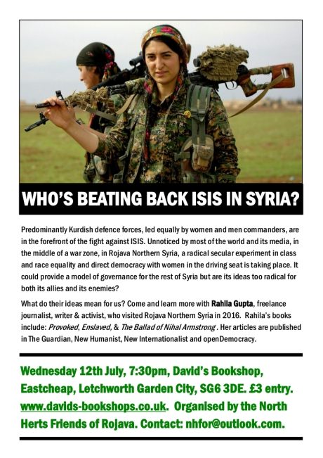 Copy of Rojava Talk Poster