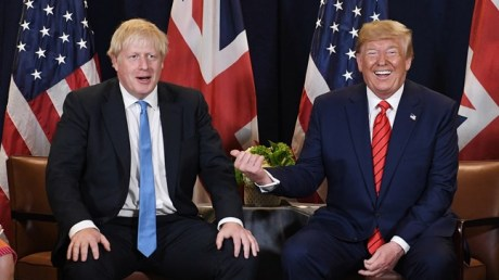 Johnson and Trump